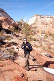 Wandeling Utah Royalty-vrije Stock Afbeelding