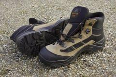Wandelingslaarzen, in openlucht Stock Afbeeldingen