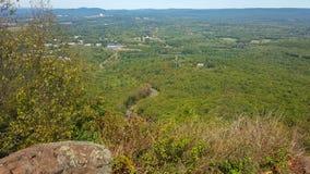 Wandelingsmening in Westelijk Massachusetts royalty-vrije stock afbeeldingen