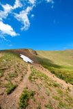 Wandelingssleep op Orkaanheuvel/Rand in Olympisch Nationaal Park in de staat van Washington de V.S. royalty-vrije stock afbeelding
