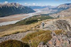 Wanderer Arthurs im Durchlauf-Nationalpark Lizenzfreies Stockfoto