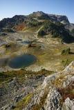 Wanderer in der Washington-Wildnis Lizenzfreies Stockbild