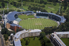 Wanderers Cricket Stadium - Aerial View Royalty Free Stock Photography