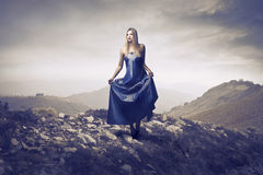 Wandering princess Royalty Free Stock Image