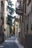 Tiny Streets of Verona stock photo