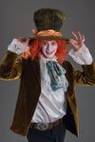 从wanderland字符的疯狂的帽商 免版税图库摄影