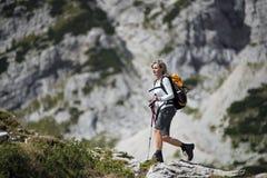 Wandern Lizenzfreie Stockbilder