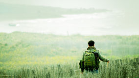 Wandern Lizenzfreies Stockfoto