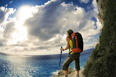 Wandern Stockfoto