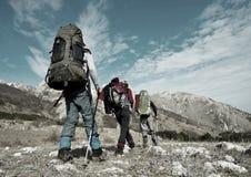 Wandern Stockfotos