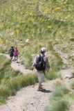 Wandern in Andorra Lizenzfreies Stockfoto