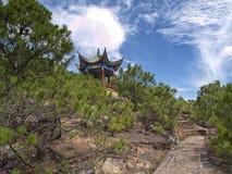 Wandern in Asien stockfoto