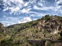 Wandern in Asien lizenzfreies stockfoto