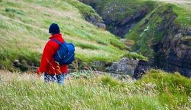 Wandern auf Stronsay Lizenzfreie Stockbilder