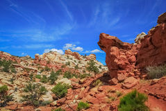 Wandern bratenen Pan Trails lizenzfreie stockfotografie