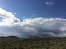 Wandern in den szenischen schönen Kamloops-Bergen Lizenzfreies Stockfoto
