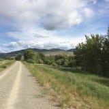 Wandern in den szenischen schönen Kamloops-Bergen Lizenzfreie Stockfotos