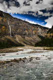 Wandern der Berg See-Spur Lizenzfreies Stockfoto
