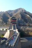 Wandern der Chinesischen Mauer Stockfoto