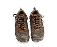 Wandern der Schuhe Stockfotos