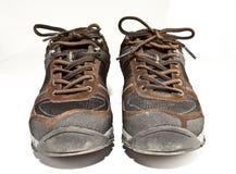 Wandern der Schuhe Stockbilder