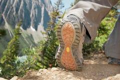 Wandern der Schuhe Lizenzfreie Stockfotografie