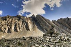 Wandern des Alpenschneehuhns Cirque Stockfotos