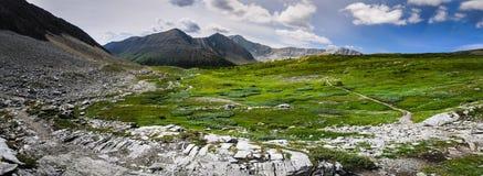 Wandern des Alpenschneehuhns Cirque Lizenzfreies Stockfoto