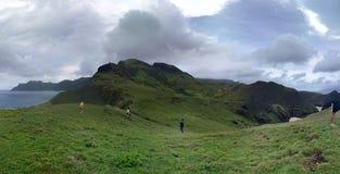 Wandern des Hügels Stockfotografie