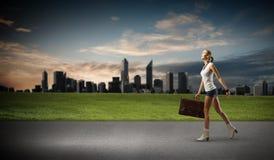 Wandern des Reisens Lizenzfreie Stockbilder