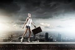 Wandern des Reisens Lizenzfreies Stockfoto