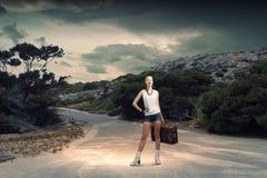 Wandern des Reisens Lizenzfreie Stockfotos