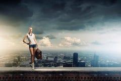 Wandern des Reisens Stockfotos