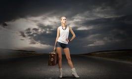 Wandern des Reisens Stockfotografie