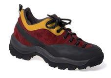 Wandern des Schuhes Stockfoto