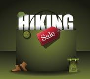 Wandern des Vektors des Einkaufstaschehintergrundes ENV 10 Lizenzfreies Stockfoto