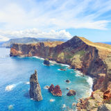 Wandern in Madeira lizenzfreie stockfotografie