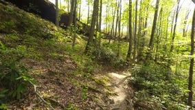Wandern in Red River Schlucht stock video