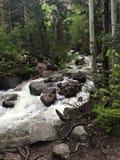Wandern in Utah lizenzfreie stockfotos