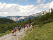 Wandern von Reise Lizenzfreie Stockfotos