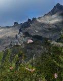 Wandern zum Schutz in Cerro Lopez im Argentinien-Patagonia lizenzfreies stockfoto