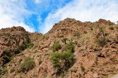 Wanderung Cascadas-del Rios Colorado Lizenzfreie Stockfotos