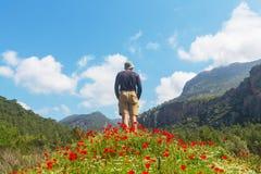 Wanderung in der Türkei Stockbilder