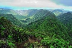 Wanderung Hawaiis Ridge Lizenzfreies Stockbild