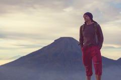 Wanderung in Indonesien Lizenzfreies Stockbild