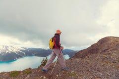 Wanderung in Kanada Lizenzfreie Stockfotografie