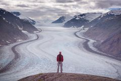 Wanderung in Kanada Stockbilder
