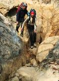 Wanderung in Krim Lizenzfreie Stockbilder