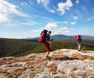 Wanderung in Krim Lizenzfreies Stockbild