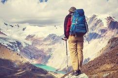 Wanderung in Peru Lizenzfreies Stockfoto